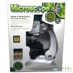 Mikroszkóp Készlet 100X-450X Nagyítással (Magic Toys, MKL042494)