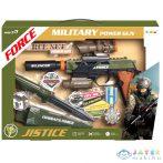 Military Force Zöld Katonai Fegyver Szett Fénnyel És Hanggal (Magic Toys, MKL494465)