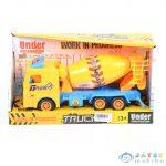 Mixer Kamion Sárga Színben (Magic Toys, MKK162177)