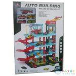 Négyszintes Parkolóház Játékszett 4Db Autóval (Magic Toys, MKL413717)