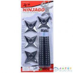 Ninja Fegyverek Fekete Színben (Magic Toys, MKK375360)