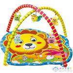 Oroszlános Baby Játszószőnyeg Plüss Állatokkal 72X65X47Cm (Magic Toys, MKL265766)