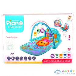 Oroszlános Bébi Játszószőnyeg Beépített Zongorával (Magic Toys, MKL636404)