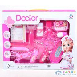 Pink Orvosi Játékszett Ollóval, Kórlappal És Kiegészítőkkel (Magic Toys, MKL538286)