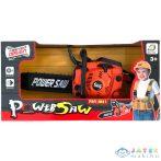 Power Saw Elektronikus Láncfűrész Fénnyel És Hanggal Narancssárga Színben (Magic Toys, MKC532959)