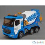 Power Truck Betonkeverő Teherautó Forgatható Dobbal, Fénnyel És Hanggal 40Cm (Magic Toys, MKK125178)