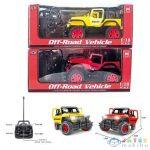 Rc Jeep Wrangler Távirányítós Terepjáró Két Színváltozatban 1/18 (Magic Toys, MKL193829)