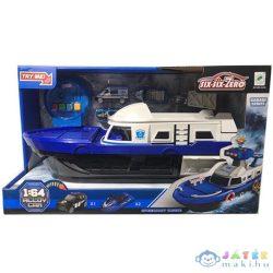 Rendőr Motorcsónak 3Db Járművel, Fény És Hang Effektekkel (Magic Toys, MKL373703)