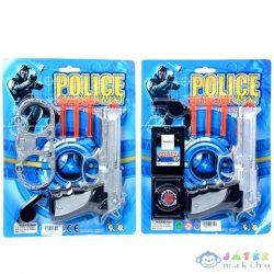Rendőrségi Szett Pisztollyal 2 Változatban (Magic Toys, MKK163167)