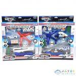 Reptéri Játékszett Repülővel És Kiegészítőkkel (Magic Toys, MKL153635)
