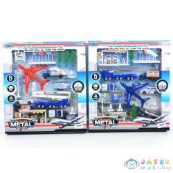Reptéri Játékszett Repülőkkel És Jelzőtáblákkal Kétféle Változatban (Magic Toys, MKL154283)