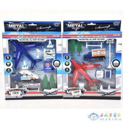 Reptéri Játékszett Repülőkkel És Kiegészítőkkel Kétféle Változatban (Magic Toys, MKL153923)