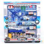 Reptéri Játékszett Repülővel, Benzinkúttal És Kiegészítőkkel (Magic Toys, MKL154328)
