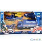 Rescue Team Rendőrségi Játék Szett Motorral (Magic Toys, MKK393513)