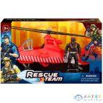 Rescue Team Tűzoltósági Helikopter Figurával (Magic Toys, MKL359978)