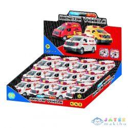 Rescue Vehicle Mentőautó Fénnyel És Hanggal 1Db (Magic Toys, MKL426641)