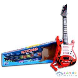 Rockband Gitár Fénnyel És Hanggal (Magic Toys, MKE349627)