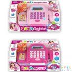 Rózsaszín Elektronikus Pénztárgép Kiegészítőkkel Kétféle Változatban (Magic Toys, MKF411465)