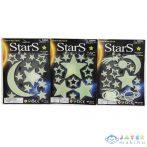 Sötétben Világító Hold És Csillagok Háromféle Változatban 1Db (Magic Toys, MKK277584)