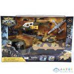 Special Combat Katonai Bázis Harci Járművekkel Játékszett (Magic Toys, MKL451391)