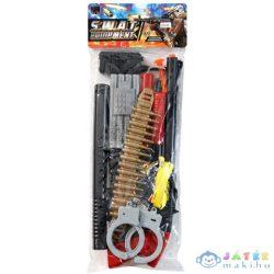 Swat Felszerelés És Puska Tapadókorongos Lövedékekkel (Magic Toys, MKL556349)