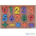 Számok Fa Formaillesztő Játék (Magic Toys, MKK574521)