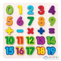 Számok Fa Formapuzzle (Magic Toys, MKL604256)
