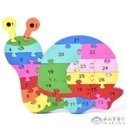 Számos Fa Oktató Csiga Puzzle (Magic Toys, MKL089996)