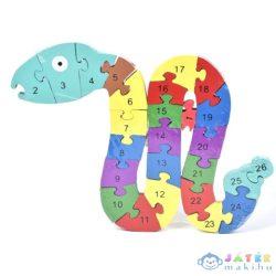 Számos Fa Oktató Kígyós Puzzle (Magic Toys, MKL089906)