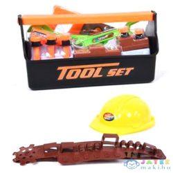 Szerszámos Láda Játékszett Övtáskával És Munkavédelmi Sisakkal (Magic Toys, MKL158801)