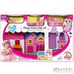 Szétnyitható Babaház Bútorokkal És Kiegészítőkkel (Magic Toys, MK7862436)
