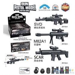 Távcsöves Fegyver Szett Kiegészítővel Többféle Változatban (Magic Toys, MKL570101)