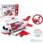 Távirányítós Tűzoltósági Repülőgép Fénnyel És Hanggal 40Cm (Magic Toys, MKL373748)