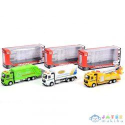 Teherautók Fénnyel És Hanggal, Háromféle Változatban (Magic Toys, MKK407544)