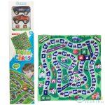 Terepjáró Autós Társasjáték Játszószőnyeg 70X70Cm (Magic Toys, MKK137904)