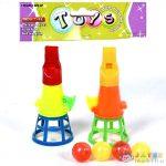Tölcséres Elkapójáték Négy Labdával (Magic Toys, MKL291704)