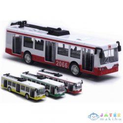 Trolibusz Fém Modell Több Színváltozatban 1/90 (Magic Toys, MKL107555)