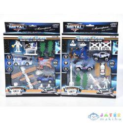 Űr Játék Szett Járművekkel És Kiegészítőkkel Kétféle Változatban (Magic Toys, MKL153914)