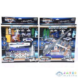 Űr Játékszett Járművekkel És Meteorittal Kétféle Változatban (Magic Toys, MKL153671)
