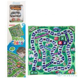 Versenyautós Társasjáték Játszószőnyeg 70X70Cm (Magic Toys, MKK137913)