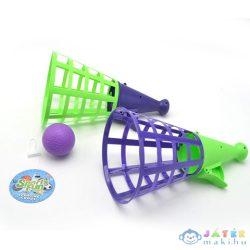 Zöld És Lila Színű Tölcséres Elkapójáték (Magic Toys, MKL318866)