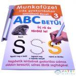 Abc Betűi Gyakorló Munkafüzet - D-Toys (Magyar Gyártó, 505/03)