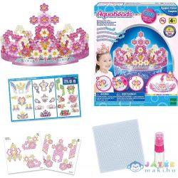 AquaBeads 3D Hercegnő tiara készítő szett (Epoch, 20 FLR31604)