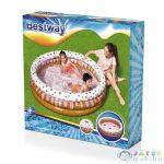 Bestway Muffinos Felfújható Gyerekmedence Kerek 160x38 cm (Aqualing, 51144)