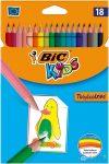 Bic Kids Tropicolors Színes Ceruza Készlet 18 Db-os
