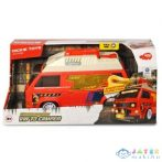 Dickie Toys: Action Volkswagen T3 Camper Autó Fénnyel és Hanggal (Simba, 203756004)