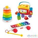 Fisher-Price Klasszikus 3db-os Ajándékcsomag (Mattel, BLT46)