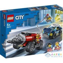 Lego City - Elit rendőrség fúrógépes üldözés (Lego, 60273)