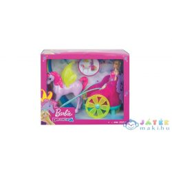 Barbie Dreamtopia: Mesés Fogat Hercegnővel (Mattel, GJK53)