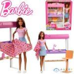 Barbie Bútorok: Dolgozószobai bútorszett babával (Mattel, DVX51)